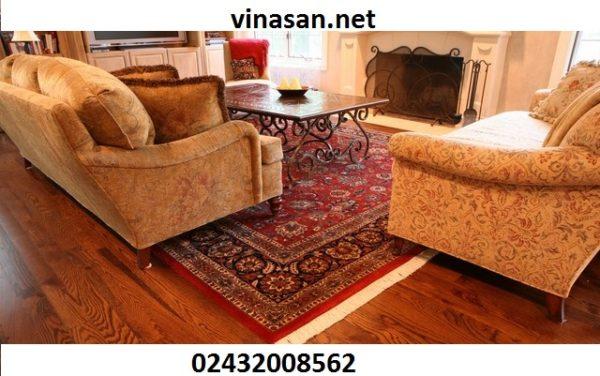 tư vấn chọn thảm trài sàn theo phòng khách